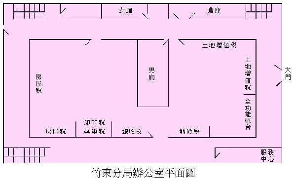 竹東分局辦公室圖